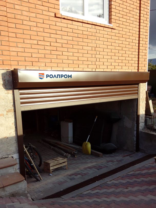 Рольставни гаражные купить в Екатеринбурге по цене 10500
